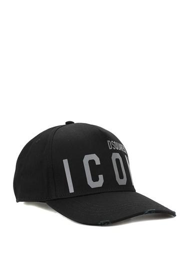 Dsquared2 Dsquared2 Reflective Icon  Erkek Şapka 101622821 Siyah
